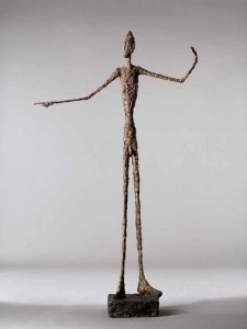 Giacometti L'homme au doigt