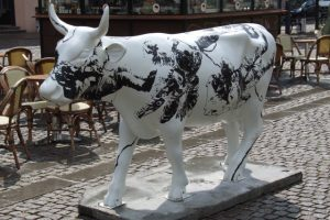 cow parade Kopenhagen 2007