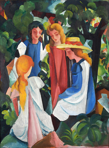 Four Girls - August Macke