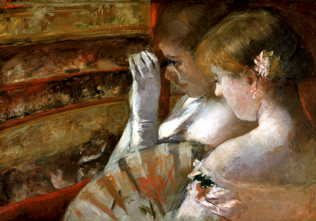In the box - Mary Cassatt