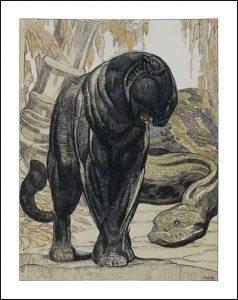 Paul Jouve Rudyard Kipling