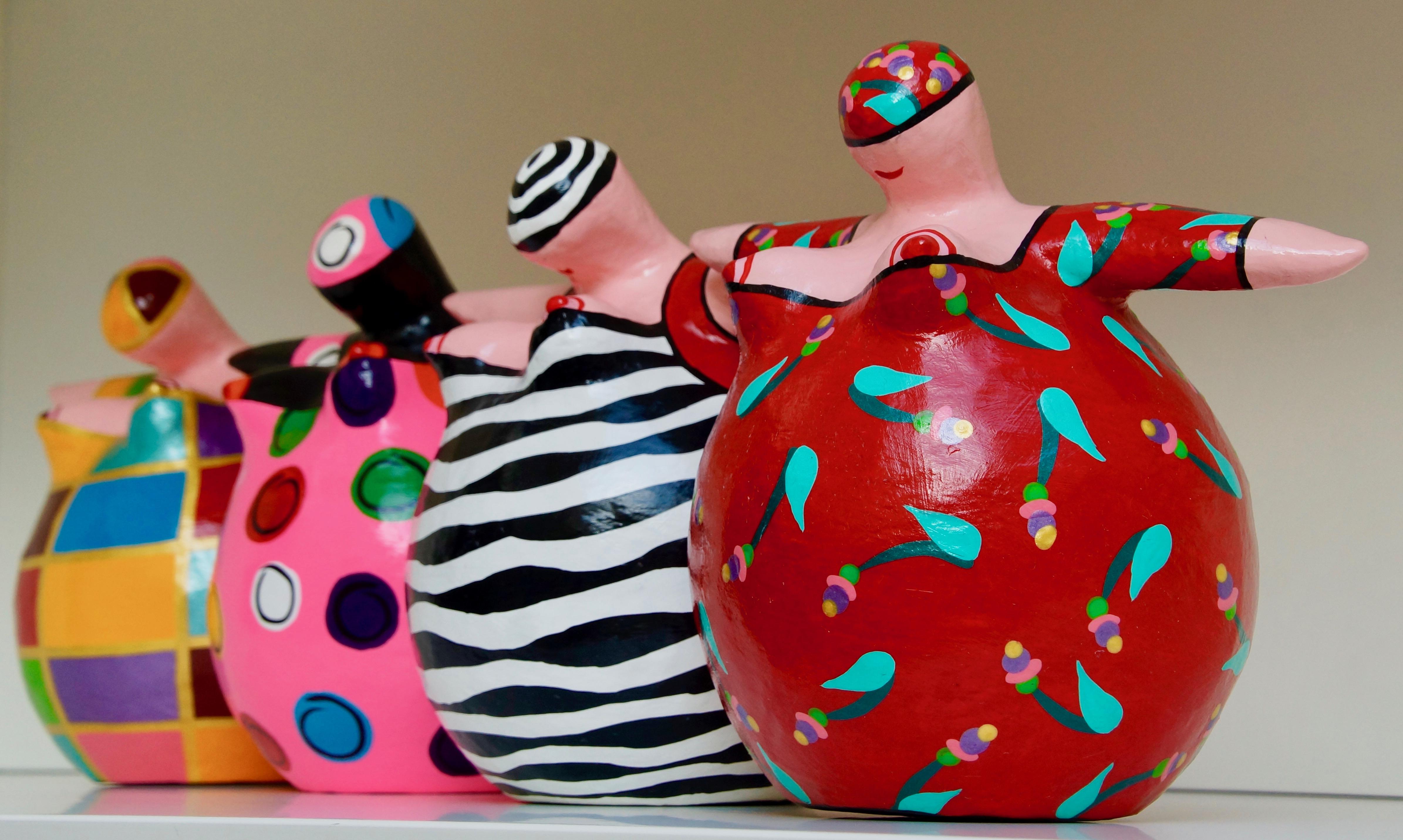 Vrouwen die plezier hebben in het leven door Trijnie Wubbolt, foto by Gwendolina Willems