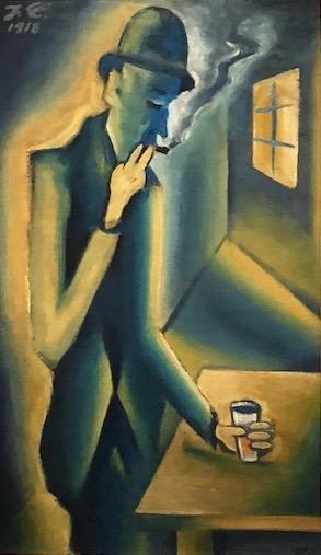 De drinker, Josef Capek