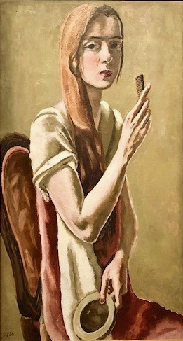 Zelfportret met kam, Marie-Louise Von Motesiczky