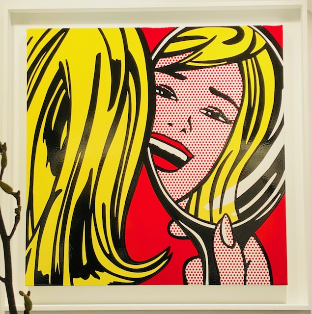 Girl in Mirror, Roy Lichtenstein