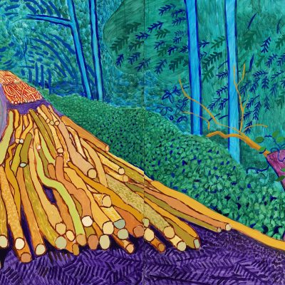 The joy of nature, Hockney and Van Gogh